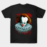 The Dancing Clown - Pennywise IT - Vector by bluedarkart