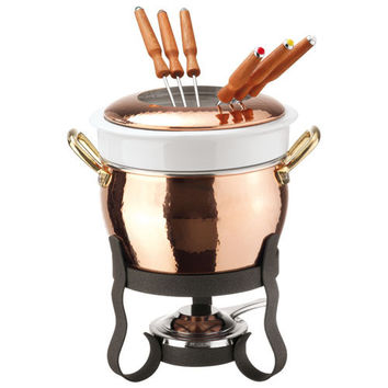 Copper Fondue Set