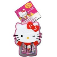 Hello Kitty Lip Balm with Kitty Shaped Pouch, 3 Count