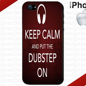 Keep Calm Dubstep On iPhone 4/4S and iPhone 5 by CrazianDesigns