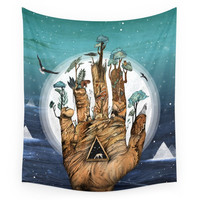 Society6 Stargate Wall Tapestry