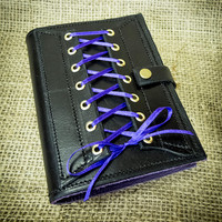 Black Leather Corset Journal