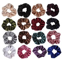 Jaciya 16 Pack Hair Elastics Scrunchies Velvet Scrunchy Bobbles Soft Elegant Elastic Hair Bands Hair Ties,...
