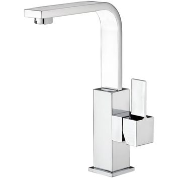 Treh Single Lever Handle Bathroom Lavatory Basin Faucet With Pop-up Drain