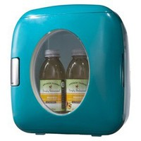 Sakar Turquoise Portable 12-can Mini Fridge