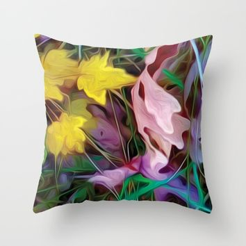 Autumn Floor 3 (3 of 3) Throw Pillow by Heidi Haakenson