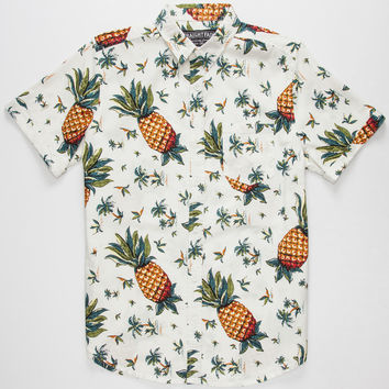 STRAIGHT FADED Pineapple Mens Shirt | S/S Shirts