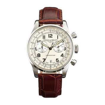 J.Crew Mens Mougin & Piquard Chronovintage Watch