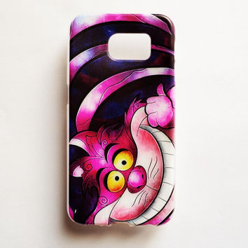 Samsung Galaxy S6 Cat Grin Case Soft Plastic Galaxy S6 Back Cute Samsung S6 Cover Funny S6