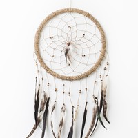 Large Natural Dreamcatcher - Wall Decor - Earthbound Trading Co.