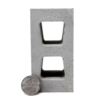 1:4 Scale Mini Cinder Block (1pk)