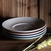 USEBER 4Pcs Plastic Dinner Plates Creative Eco-Friendly Material Sushi Dish Dinnerware Plate Dish Serving Tray Dishes Plates Set