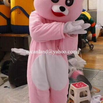 Pink Rabbit Mascot Costumes,Cosplay Costumes,Costumes for Adults,Party Costume,Halloween Costume,Clothing,Costumes for Easter,Rabbit Cosplay