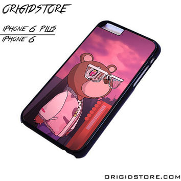 Kanye West Graduation Bear Rapper For iPhone Cases Phone Covers Phone Cases iPhone 6 Case iPhone 6 Plus Case Smartphone Case