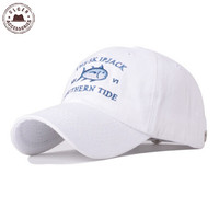 SALE On New Sun Golf Casquette southern tide fish embroidery baseball cap bone snapback summer track sun hat baseball cap for women men
