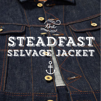 The Steadfast Selvedge Denim Jacket