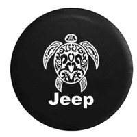Jeep Sea Turtle Diving Beach Marine Life Spare Tire Cover OEM Vinyl