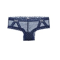 AERIE SHINE DOT MESH CHEEKY
