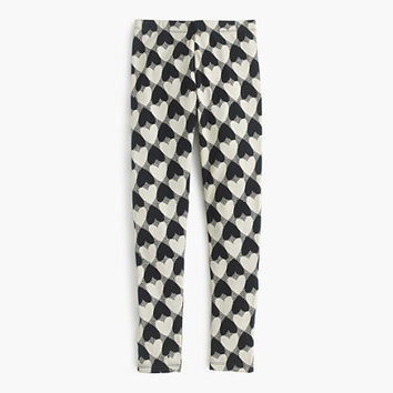 crewcuts Girls Everyday Legging In Heart Print