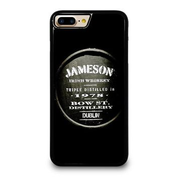 JAMESON WHISKEY iPhone 4/4S 5/5S/SE 5C 6/6S 7 8 Plus X Case