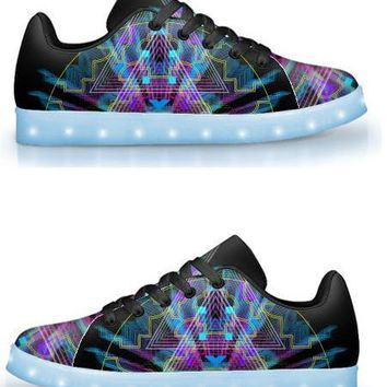 Vegitislista by Sam and Cate Farrand - APP Controlled Low Top LED Shoe