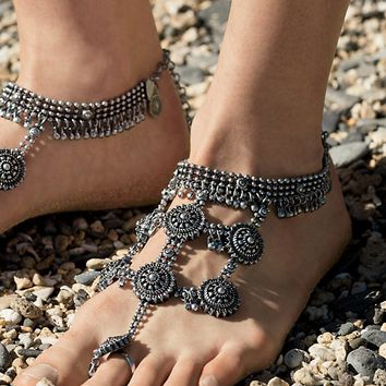 Free People Boho Goddess Barefoot Sandals