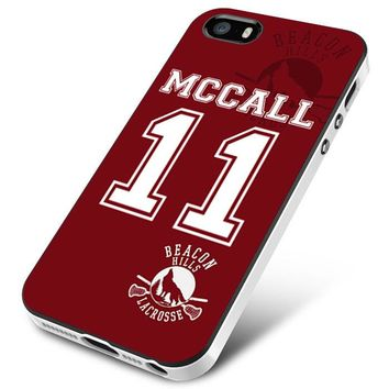 Teen Wolf McCall Lacrosse Jersey iPhone 5 | 5S | 5SE Case Planetscase.com