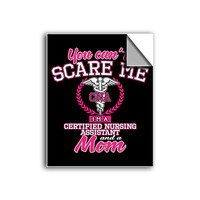 """FREE SHIPPING - """"You Can't Scare Me - CNA"""" Vinyl Decal Sticker (5"""" tall) - Limited Time Only!"""