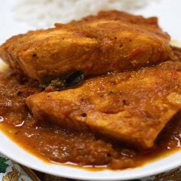 Recipes - Salmon Curry