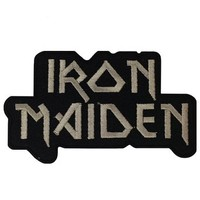 Iron Maiden Music Band Logo I Embroidered Iron Patches
