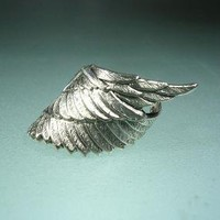 xx EAR CUFF  No piercing required Silver Archangel by RingRingRing