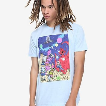 Bob's Burgers Belchers In Space T-Shirt