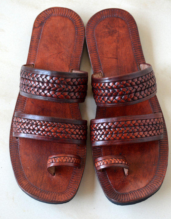 Moroccan Inspired Double Braided Leather From