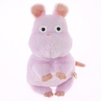 """Spirited Away """"Bow mouse"""" 13cm/5"""" Soft stuffed mouse [Japan import]"""