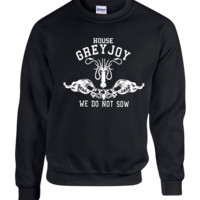 house greyjoy game of thrones crewneck sweatshirt