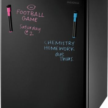 Insignia™ - 2.6 Cu. Ft. Mini Fridge - Black