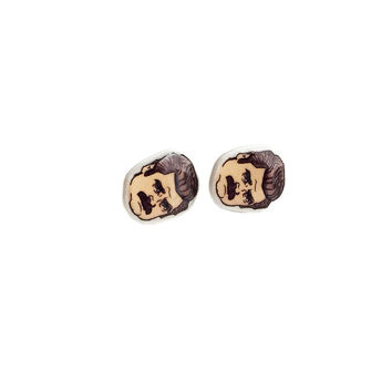 The Duke Mini Earrings