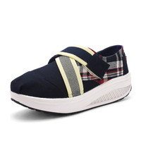 Slimming Swing Shoes Sneakers Women Breathable Sneakers Wedge Platform Elevator Swing Shoes For Weight Loss Alternative Measures