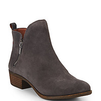 Lucky Brand - Basonta Suede Ankle Boots