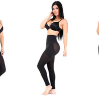 Shapextreme Butt Lifter Leggings Fully Strach Hold and firm Body shape Sexy Comfy Black