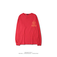 2016 hot kanye long-sleeve shirt