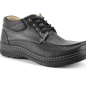 New Men's WH-B201 Lace Up Work Style Ankle Boots
