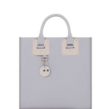 Sophie Hulme Albion Square Tote Bag, Light Gray