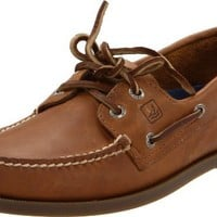 Sperry Top-Sider Men's A/O 2 Eye Boat Shoe,Sahara,12 M US