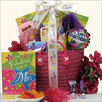 iTunes Girl Tween Birthday Gift Basket