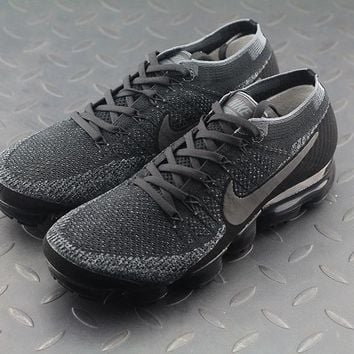 LMFON Nike Air Max Vapor Max Triple Black For Women Men Running Sport Casual Shoes
