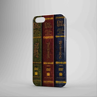 The Lord Of The Rings Trilogy Books iPhone 5 Case