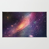 Galaxy colorful Rug by Msimioni
