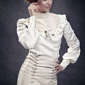 Blouse Sophronia - Victorian steampunk