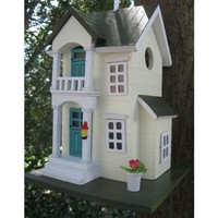 SheilaShrubs.com: Main Street Cottage Birdhouse 6003S by Home Bazaar: Birdhouses